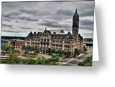 Erie Community College City Campus  Greeting Card