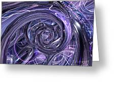 Eternal Depth Of Abstract Fx Greeting Card