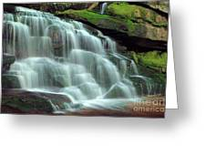 Evening At The Falls Greeting Card