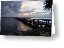 Evening On The Indian River Lagoon Greeting Card