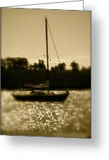 Evening Sail Greeting Card