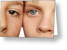 Eye Colour Greeting Card