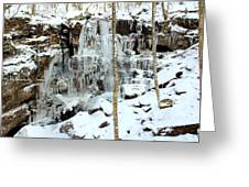 Falling Springs  Greeting Card