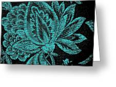 Fancy Flower Greeting Card