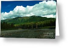 Fernie British Columbia  Greeting Card