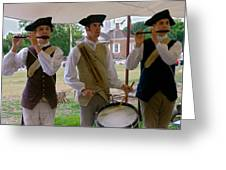 Fifes And Drums Greeting Card