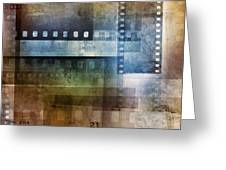 Film Negatives Greeting Card