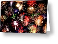 Fireworks Medley Greeting Card
