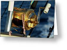 Fishing Rods Greeting Card