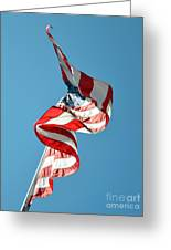 Flagged Greeting Card