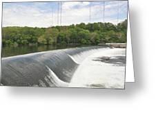 Flatrock Dam Greeting Card