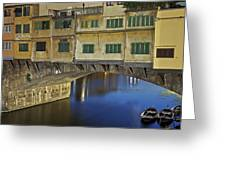 Florence - Ponte Vecchio Greeting Card