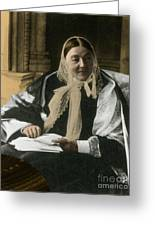 Florence Nightingale, English Nurse Greeting Card by Science Source