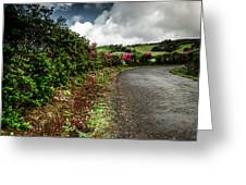 Flores Island - Azores Greeting Card