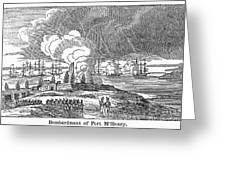 Fort Mchenry, 1814 Greeting Card