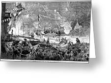 Fourth Of July, 1876 Greeting Card