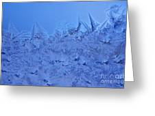 Frost On A Windowpane Greeting Card