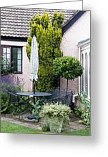 Garden Furniture Greeting Card