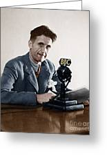 George Orwell (1903-1950) Greeting Card