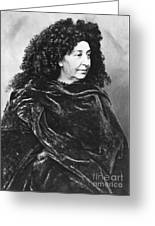 George Sand, French Author And Feminist Greeting Card