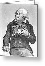 Georges Danton (1759-1794) Greeting Card