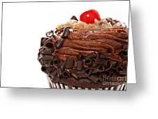 German Chocolate Cupcake 2 Greeting Card