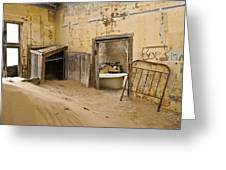 Ghost Town Boarding House Greeting Card