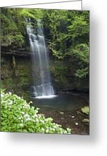 Glencar Waterfall, Co Sligo, Ireland Greeting Card