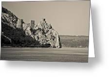 Golubac Fortress Greeting Card