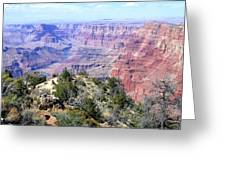 Grand Canyon 8 Greeting Card