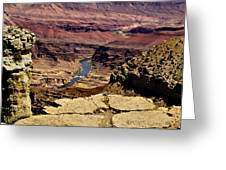 Grand Canyon Colorado River Greeting Card