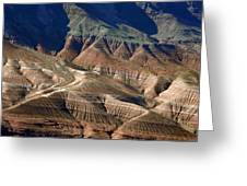 Grand Canyon Rock Formations IIi Greeting Card