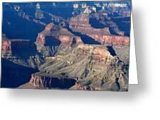Grand Canyon Shadows Greeting Card