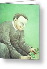 Gregor Mendel, Father Of Genetics Greeting Card