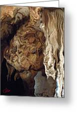 Grotte Magdaleine Region Ardeche France Greeting Card