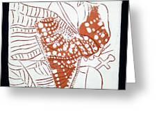 Guardian Angel - Tile Greeting Card