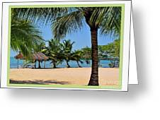 Guatamala Beach Greeting Card