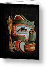Haida Mask Greeting Card