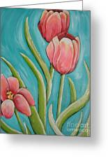Haile Spring Greeting Card by Holly Donohoe