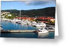 Harbor Paradise Greeting Card