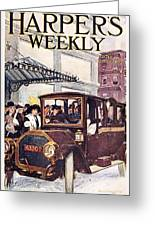 Harpers Weekly, 1913 Greeting Card