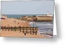 Hastings Beach Greeting Card