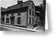 Hawthornes Birthplace Greeting Card