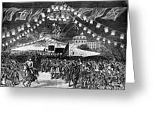 Hayes Inauguration, 1877 Greeting Card by Granger