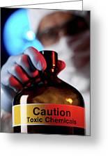 Hazardous Chemical Greeting Card