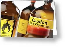 Hazardous Chemicals Greeting Card