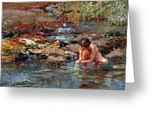 Healing Water Greeting Card