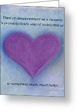 Heartww160 Greeting Card