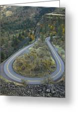 Historic Columbia River Highway Greeting Card