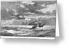 Hms Challenger, 1872-76 Greeting Card